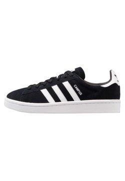 adidas Originals - CAMPUS - Matalavartiset tennarit - core black/white