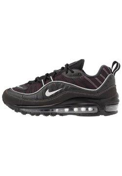Nike Sportswear - AIR MAX 98 - Sneakers laag - black/metallic silver/oil grey/vast grey/white