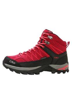 CMP - RIGEL MID TREKKING SHOE WP - Chaussures de marche - granita/corallo