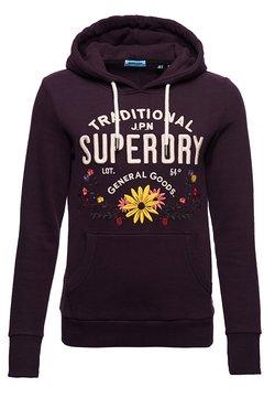 Superdry - FOLK - Kapuzenpullover - purple
