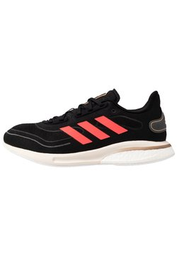 adidas Performance - SUPERNOVA - Zapatillas de running neutras - core black/signal pink/copper metallic