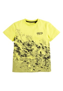 Next - Printtipaita - yellow