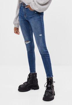 Bershka - PUSH-UP - Jeans Skinny - blue