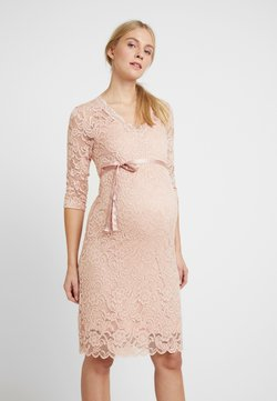 MAMALICIOUS - MLMIVANA DRESS - Cocktailkjoler / festkjoler - silver pink