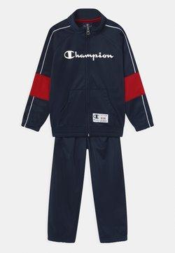 Champion - FULL ZIP SET UNISEX - Verryttelypuku - dark blue