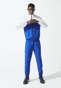 Lacoste Sport - Trainingsanzug - bleu / blanc / bleu marine