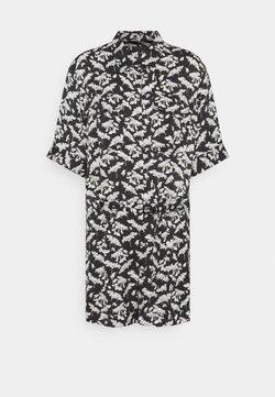 rag & bone - SURPLUS FLORAL ROMPER LABEL - Jumpsuit - black