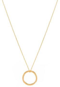 LOLA - MIT RING ANHÄNGER - Halskette - gold