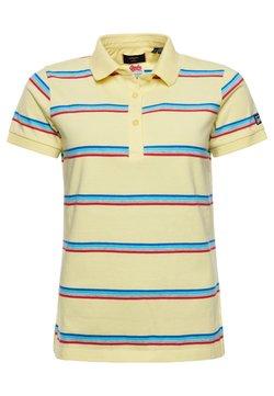 Superdry - Poloshirt - varsity faded yellow stripe