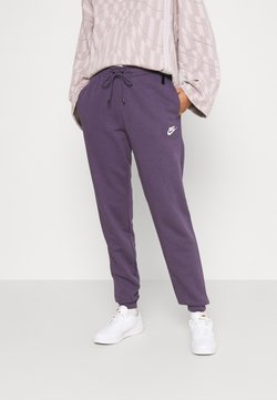 Nike Sportswear - PANT - Jogginghose - dark raisin/white