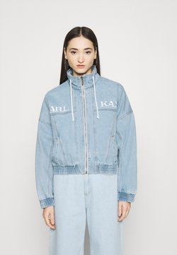Karl Kani - RETRO SUPERLIGHT JACKET - Farkkutakki - blue