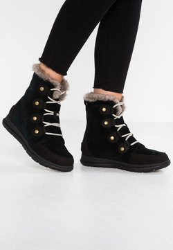 Sorel - EXPLORER JOAN - Bottines à lacets - black/dark stone