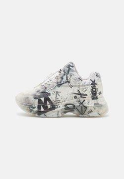 Bronx - BAISLEY - Sneakersy niskie - offwhite/light grey