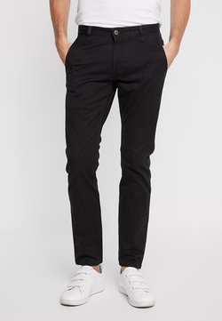 DOCKERS - ALPHA ORIGINAL KHAKI SKINNY - Chinot - black
