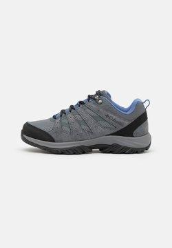 Columbia - REDMOND III - Hiking shoes - grey steel/cove