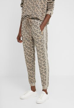 True Religion - PANTS LEO ALLOVER PRINT - Jogginghose - beige