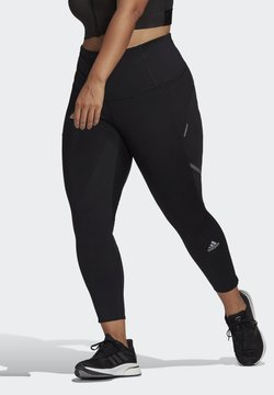 adidas Performance - HOW WE DO LONG TIGHTS (PLUS SIZE) - Collant - black/refsil