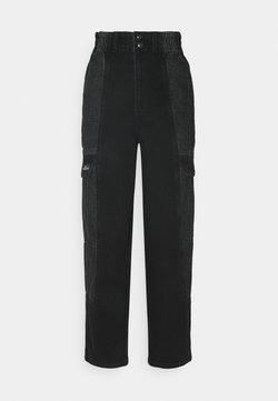 BDG Urban Outfitters - COLOR BLOCK BLAINE - Jeans baggy - black