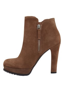 PoiLei - ZOE - High Heel Stiefelette - light brown