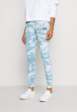 adidas Originals - TIGHTS - Leggings - sky tint/shade blue/easy blue