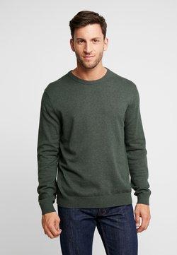 Esprit - CREW - Strickpullover - dark green