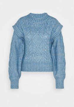 Lindex - HELGA - Trui - blue melange