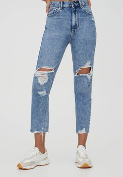 PULL&BEAR - MOM - Jeans Relaxed Fit - light blue
