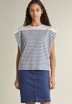 Salsa - SAMARA  - T-Shirt print - blau