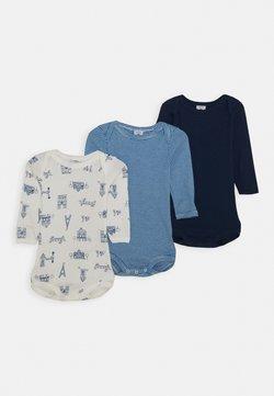 Petit Bateau - BABY 3 PACK UNISEX - Body / Bodystockings - blue/white