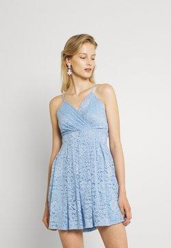 WAL G. - EMMA SKATER DRESS - Sukienka koktajlowa - cornflour blue