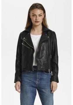 My Essential Wardrobe - Giacca di pelle - black