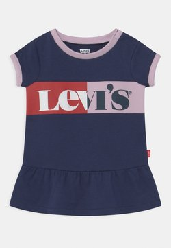 Levi's® - DROPWAIST - Freizeitkleid - medieval blue
