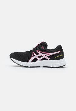 ASICS - GEL CONTEND 7 - Zapatillas de running neutras - black/hot pink