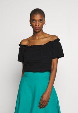 Cream - TORI - T-shirt basic - pitch black
