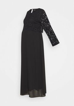 ATTESA - PIZZO LUNGO - Vestido de fiesta - black