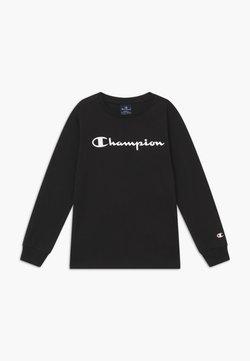 Champion - LEGACY AMERICAN CLASSICS LONG SLEEVE - Långärmad tröja - black