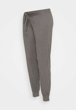 MAMALICIOUS - MLKEHLA PANT - Jogginghose - medium grey melange