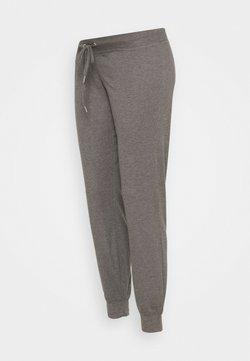 MAMALICIOUS - MLKEHLA PANT - Træningsbukser - medium grey melange