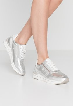 LOVE OUR PLANET by MARCO TOZZI - Sneaker low - silver