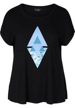Active by Zizzi - T-Shirt print - black
