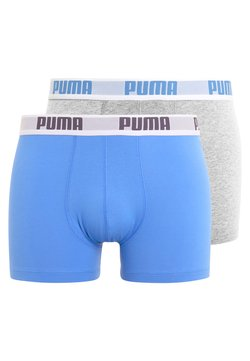 Puma - BASIC 2 PACK - Shorty - blue/grey