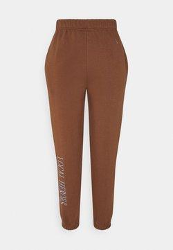 Local Heroes - CHOCOLATE PANTS - Jogginghose - brown