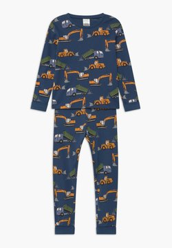 Lindex - DIGGER PRINT  - Nachtwäsche Set - dark dusty blue