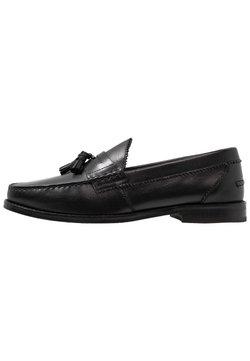 Walk London - TOM TASSEL LOAFER - Business-Slipper - black
