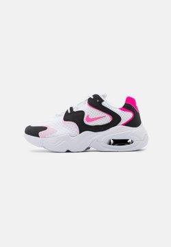 Nike Sportswear - AIR MAX 2X - Sneaker low - white/pink glow/pink foam/hyper pink/black