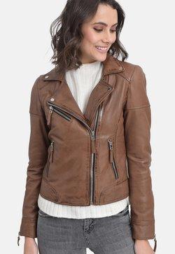 Oakwood - SALOME - Leather jacket - cognac