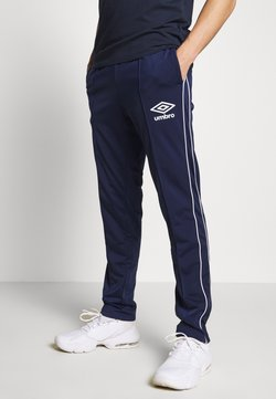 Umbro - DIAMOND TRACK PANT - Jogginghose - medieval blue/brilliant white