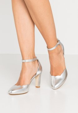 Anna Field - LEATHER PUMPS - High Heel Pumps - silver