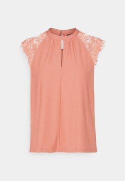 Vero Moda Petite - VMMILLA TEE - Print T-shirt - old rose