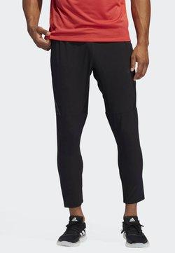 adidas Performance - AERO 3S PNT - Verryttelyhousut - black